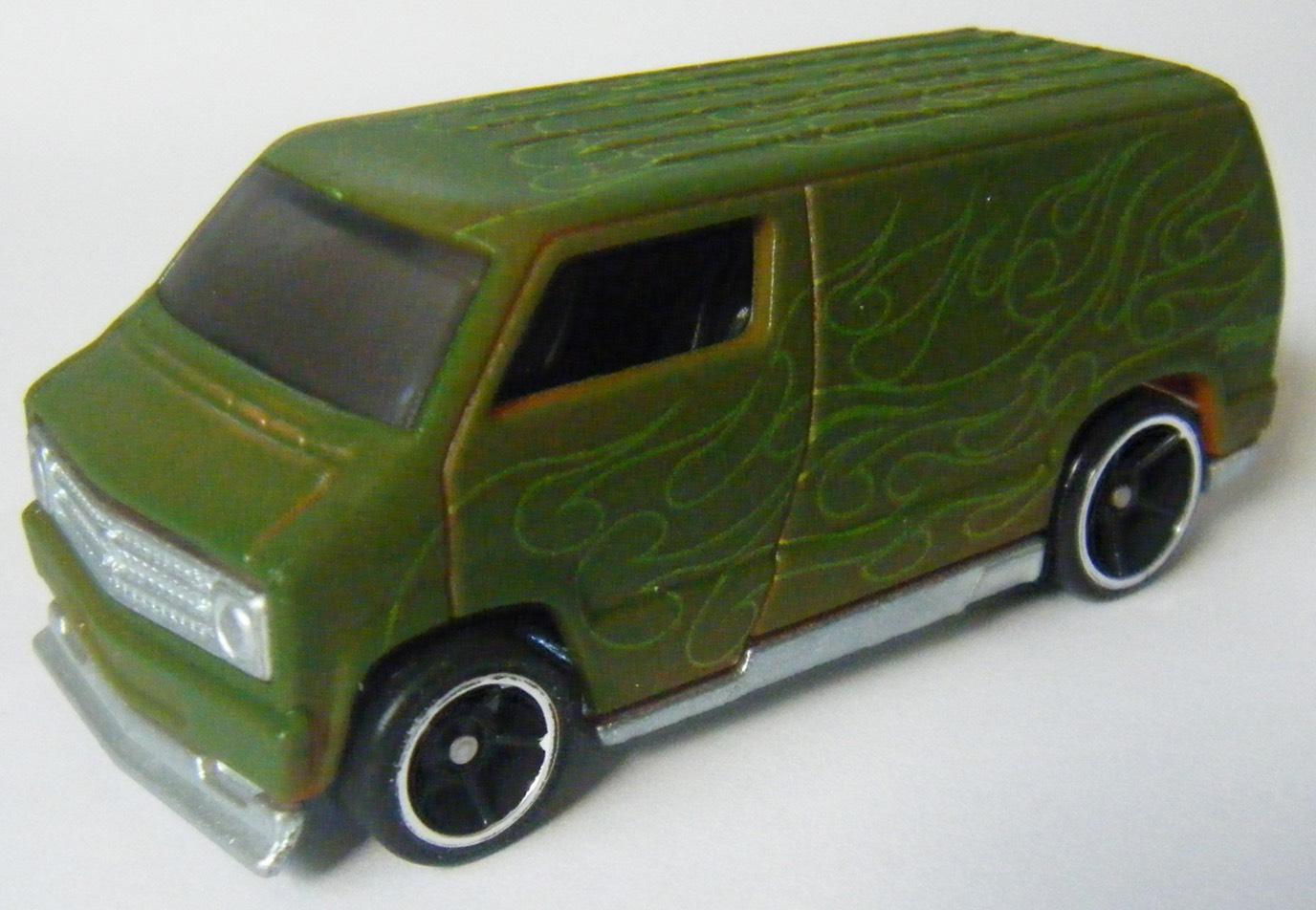 77 Dodge Van Colour Shifter Cold Colour Toyvan Co Uk Peter Lee